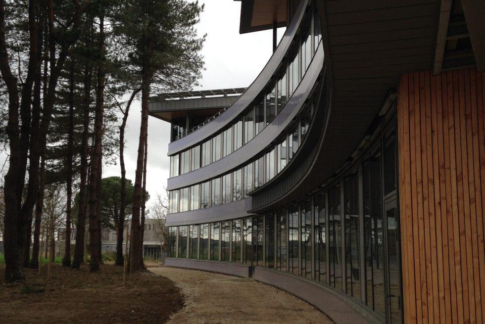 delta green construction de bureaux 44 st herblain defontaine construction. Black Bedroom Furniture Sets. Home Design Ideas